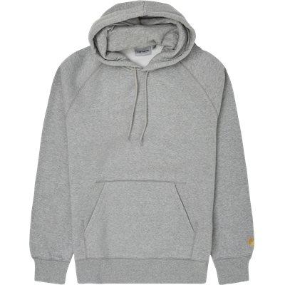 Hooded Chase Sweatshirt Regular fit | Hooded Chase Sweatshirt | Grå
